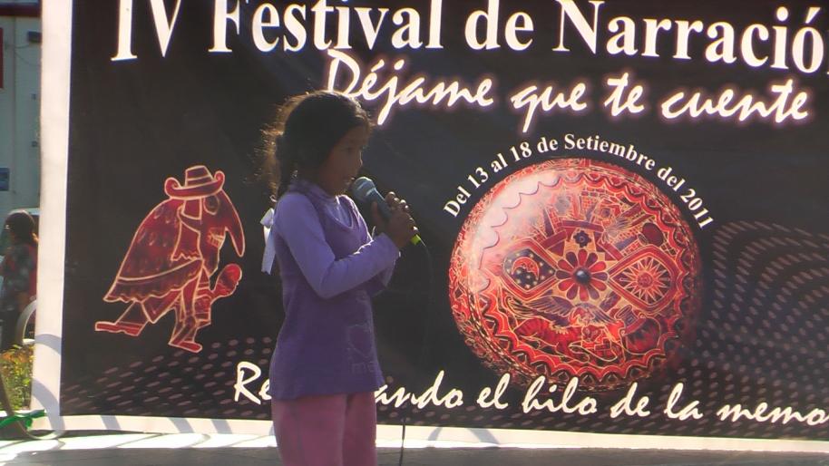 Narratón 2011 Plaza Constitución Huancayo